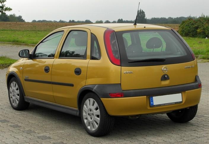 Inchiriere Opel Corsa
